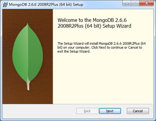 Windows下MongoDB安装启动及其服务安装